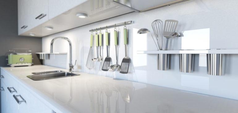 Cocinas lineales, la alternativa para optimizar el espacio