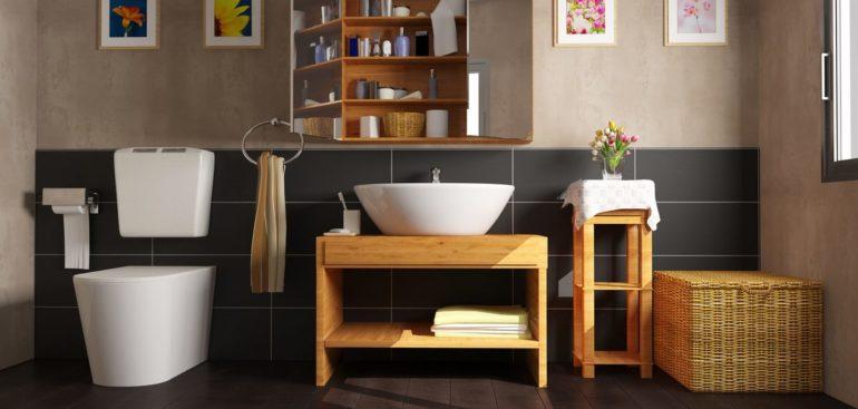 Muebles auxiliares, descubre su importancia en el baño