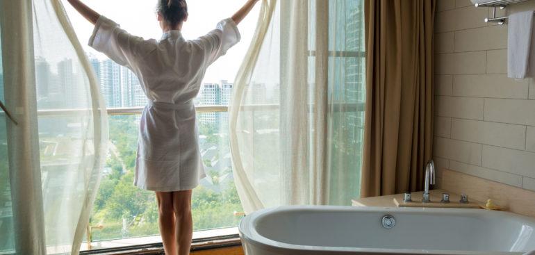 ¿Un baño relajante? Crea un espacio mindfulness
