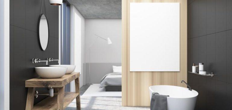Cuarto de baño con o sin puertas